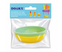 Mistička pod nanuk 2 ks Dooky StopDrip Yellow/Mint