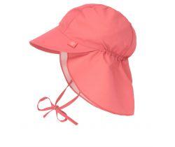 Klobouček proti slunci Lässig Flap Hat Coral