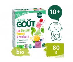 Sušenky (80 g) Good Gout BIO Barvy & tvary