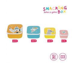 Svačinové misky 4 ks Badabulle Snacking box