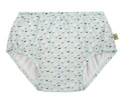 Dívčí plavky Lässig Swim Diaper Girls Fish Scales