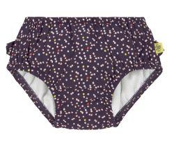 Dívčí plavky Lässig Swim Diaper Girls Multidots