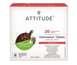 Tablety do myčky bez fosfátů 26 ks Attitude