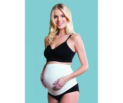 Těhotenský podpůrný pás přes bříško Carriwell Bílá