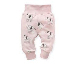 Tepláčky Pinokio Wild Animals Elephant Pink