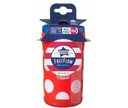 Termohrnek Tommee Tippee Free Flow Cool Cup, 380ml, 18m+