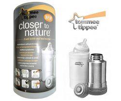 Termoska a cestovní ohřívačka lahví Tomme Tippee C2N