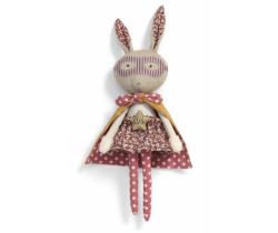 Textilní hračka Mamas & Papas Králíček Superhero Pop
