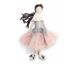 Textilní hračka Mamas & Papas Panenka v baletní sukýnce
