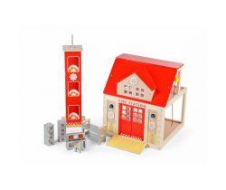 Dřevěná hasičská stanice Tidlo
