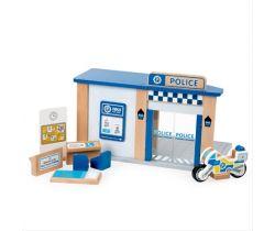 Dřevěná policejní stanice Tidlo