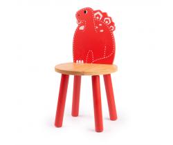 Dřevěná židle Tidlo Stegosaurus