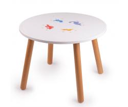 Dřevěný stůl Tidlo Dinosauři