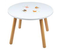Dřevěný stůl Tidlo Hospodářská zvířátka