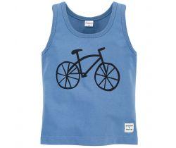 Tílko Pinokio Summertime Blue Bike