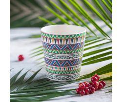 Bambusový hrneček Tommy Lise Ethnic Festive 1 ks