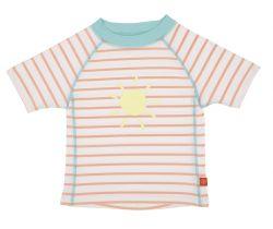 Tričko Lässig Rashguard Short Sleeve Girls Sailor Peach