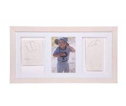 Trojitý rámeček pro otisk ručičky a nožičky Hand Print