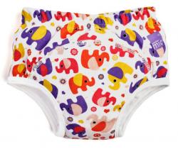 Učící plenkové kalhotky Bambino Mio Pink Elephant