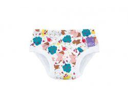 Učící plenkové kalhotky Bambino Mio Puddle Pigs