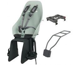Zadní sedačka na kolo s adaptérem a nosičem na sedlovku Urban Iki Set
