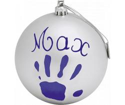 Vánoční otisk na stromeček Baby Art Christmas ball
