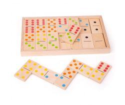 Velké dřevěné domino Bigjigs Toys