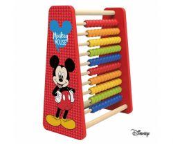 Velké dřevěné počítadlo Derrson Disney Mickey