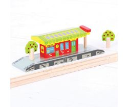 Venkovské nádraží Bigjigs Rail