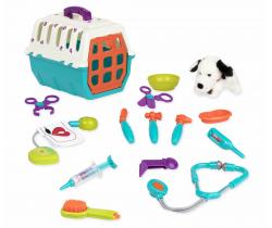 Veterinářská sada s přepravka B-Toys Dalmatin