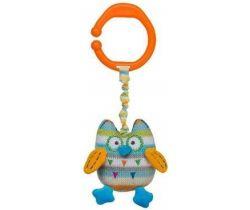 Vibrační závěsná hračka BabyOno Owl