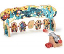 Dřevěná hra Vilac Útok robotů