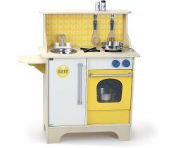 Dřevěná kuchyňka Vilac Cuistot Žlutá