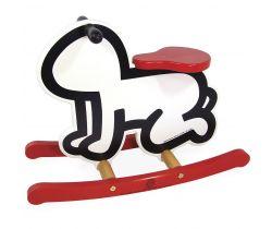 Dřevěné houpadlo Vilac Keith Haring