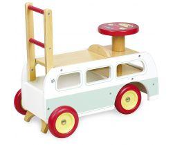 Dřevěné odrážedlo 2v1 Vilac Minibus