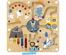 Magnetický labyrint cirkus  Vilac Michelle Carlslund