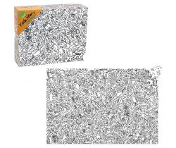 Puzzle 500 ks Vilac Keith Haring