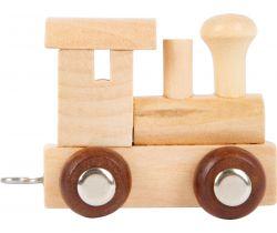 Vláček Vláčkodráhy Abeceda lokomotiva Small Foot