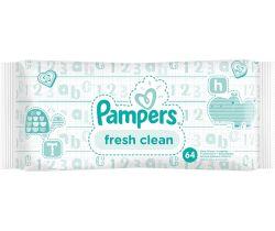 Vlhčené ubrousky 64 ks Pampers Fresh Clean