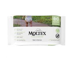 Vlhčené ubrousky Moltex Pure & Nature EKO na bázi vody 60 ks