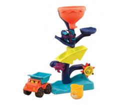 Vodní mlýnek s náklaďákem B-Toys