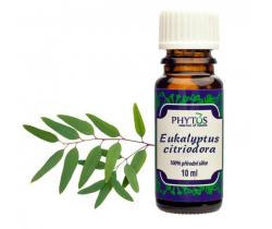 Vonný olej 10 ml Phytos Eukalyptus Citriodora