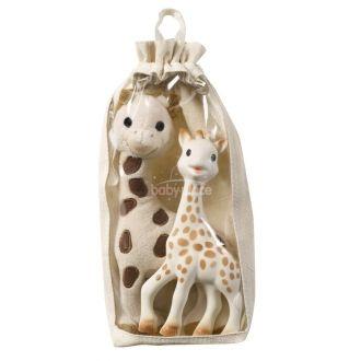Vulli Sophie plyšová žirafa + Sophie žirafa kousátko