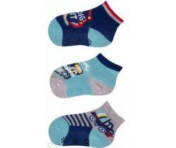 Vzorované ponožky YO Dig It 3 ks