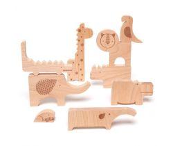 Zábavné puzzle Petitcollage Safari