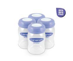 Zásobníky na uskladnění mateřského mléka 4 ks Lansinoh
