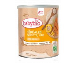 Zeleninová nemléčná kaše s mrkví, kukuřicí a quinou 220 g Babybio