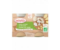 Zeleninový příkrm Květák a brambory 2x130 g Babybio