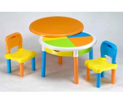 Židle a stůl Tega Baby Round